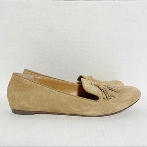 J. Crew Women's Cora Suede Tassel Loafers Sz 8.5